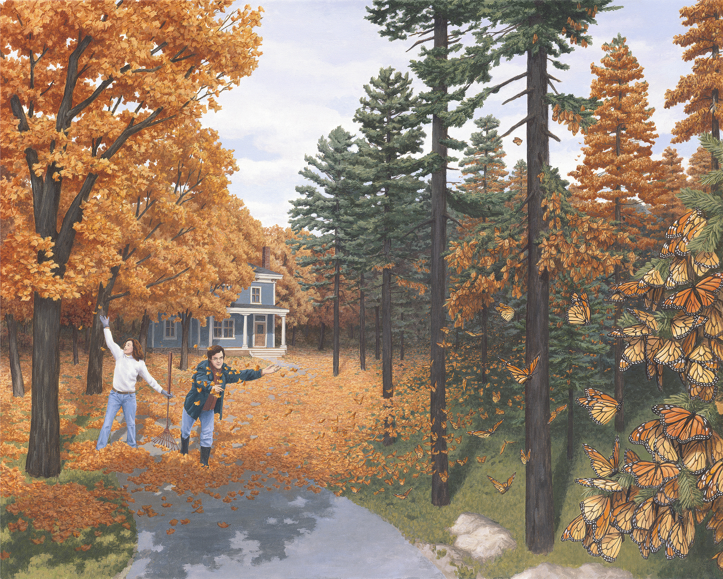Some Incredible Paintings Of Rob Gonsalves Meen Curry