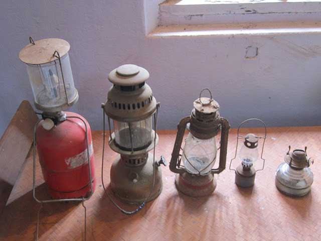 An evolution of lamps