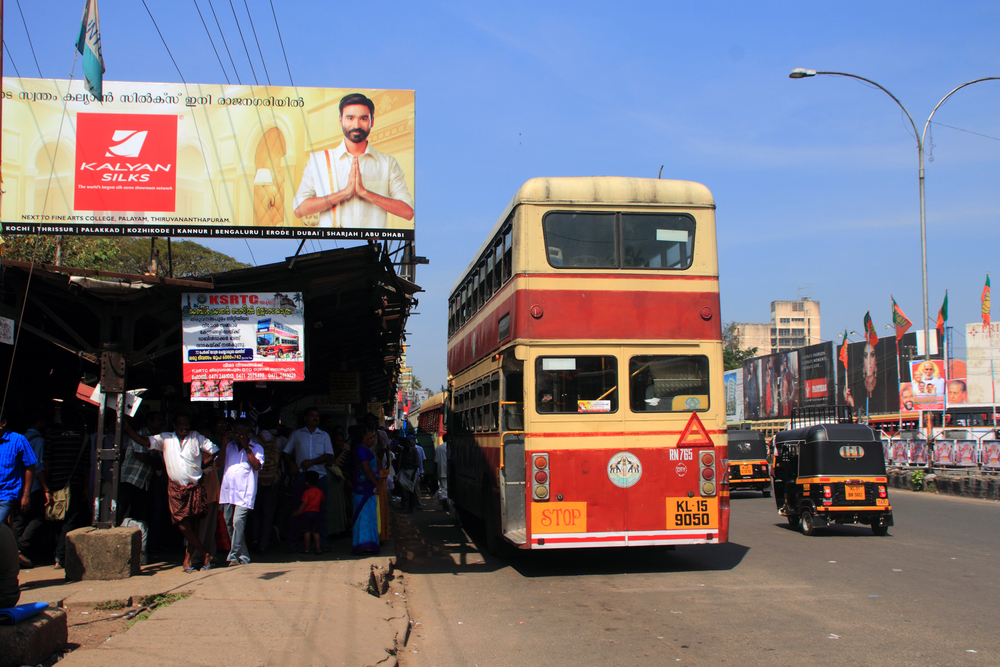 Double Decker Bus Trivandrum