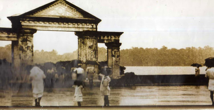 High-court-boat-jetty-at-Ernakulam-on-1949