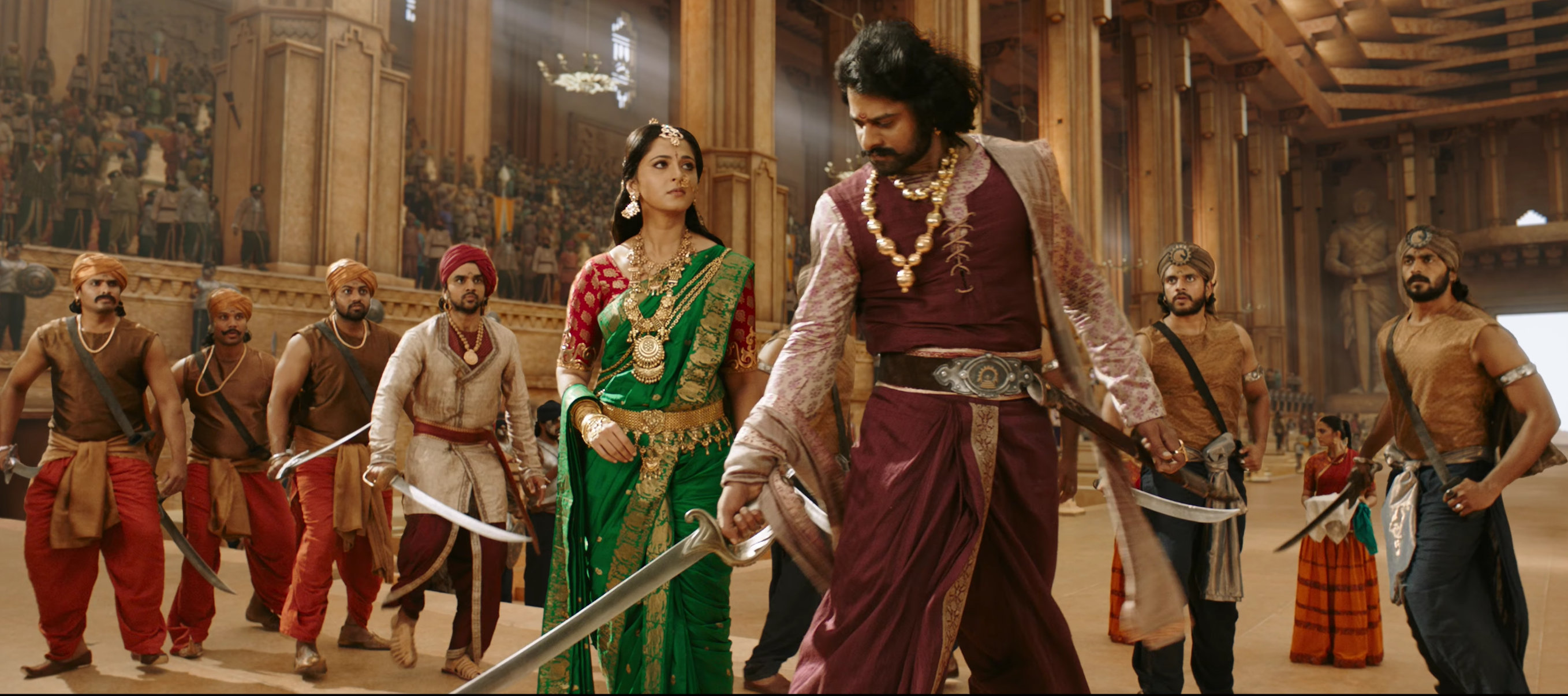 Baahubali - Prabhas and Anushka Wallpaper HD -1 - Free Download